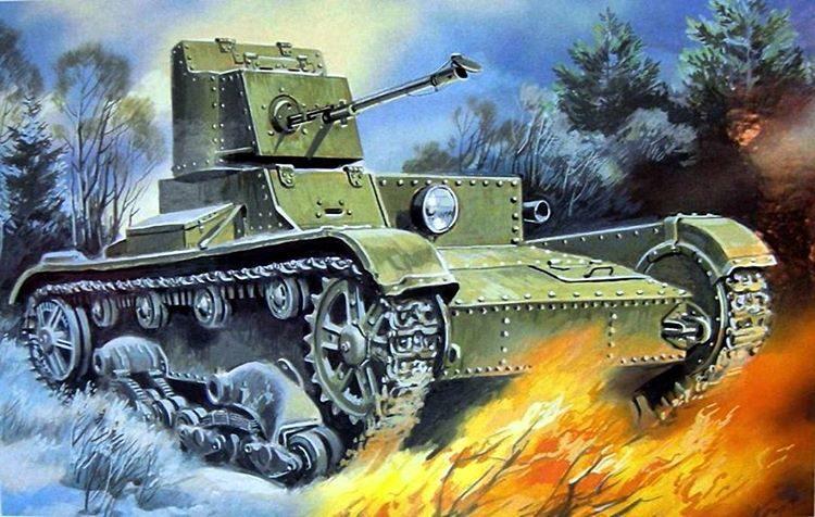Руденко Валерий. Танк ОТ-26.