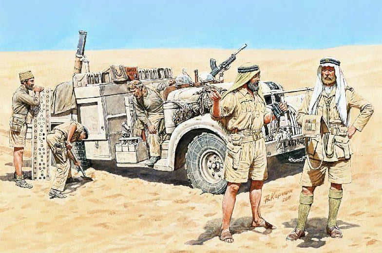 Каращук Андрей. LRDG в Северной Африке.