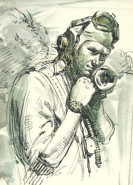 William Dargie. Пилот Francis Gould.