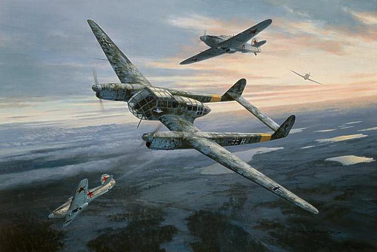 Postlethwaite Mark. Истребитель Fw-189.