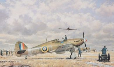 Young John. Истребители Hawker Typhoon 1b.