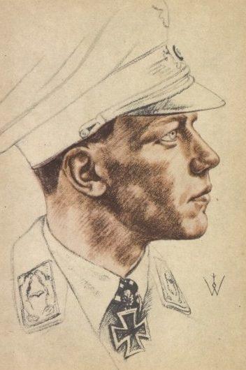 Willrich Wolfgang. Майор Helmut Wick.