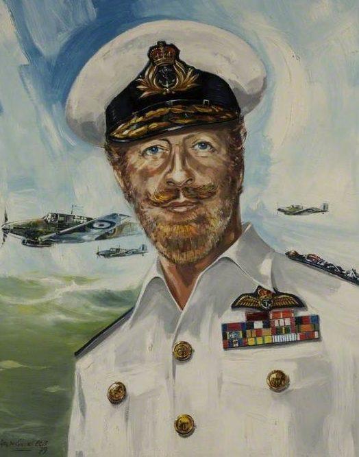 Gillies-Cole Ralph. Вице-адмирал Charles Evans.