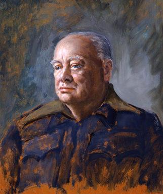 Hailstone Bernard. Премьер-министр Winston Churchill.