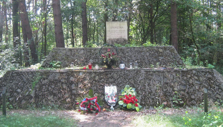д. Калилув, гмина Бяла Подляска. Памятник на месте захоронение советских военнопленных из Шталага-307.