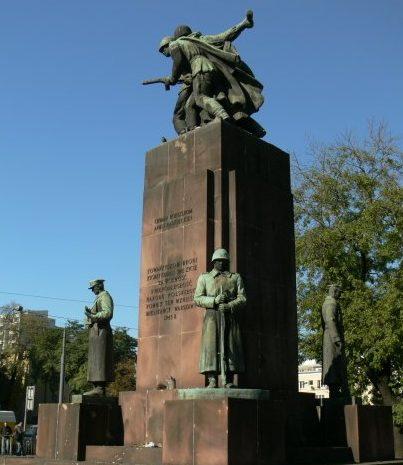 Памятник советско-польскому братству