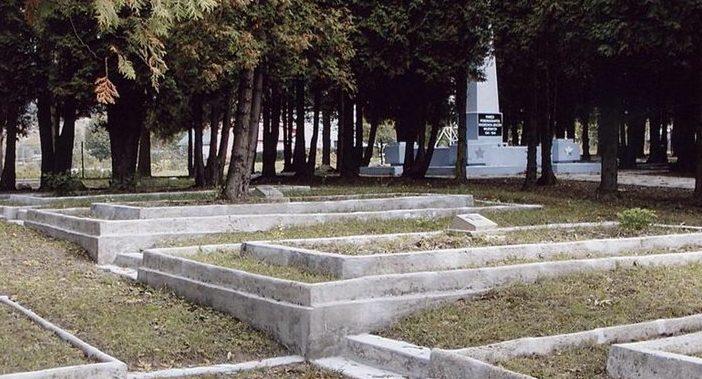 д. Ольховице, Санокский повят. Воинское кладбище, где захоронено 19 тысяч советских военнопленных.