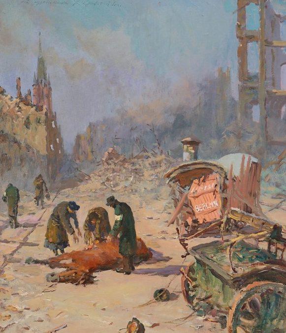 Кривоногов Петр. В Берлине.1944 год.
