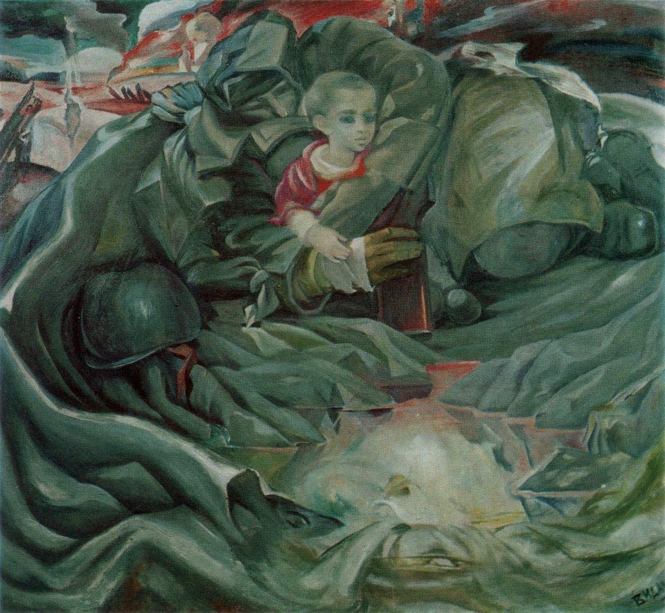 Наринбеков Видади. Отечественная война.