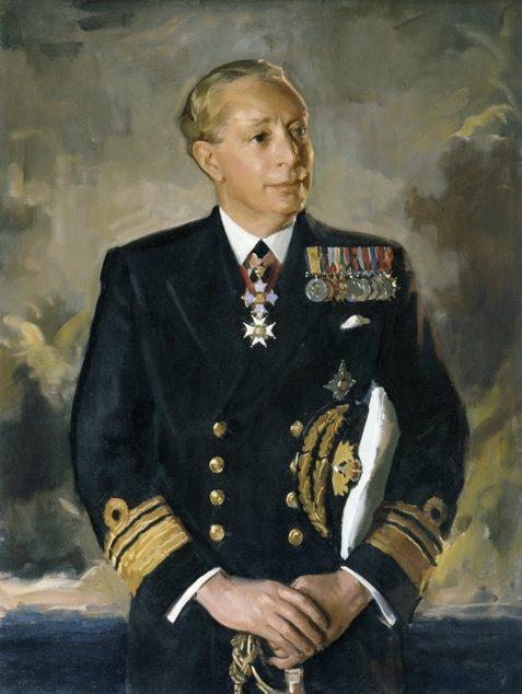 Dargie William. Адмирал John Collins.
