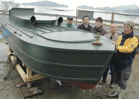 Восстановленный двухместный катер «Sinyo» в наши дни.