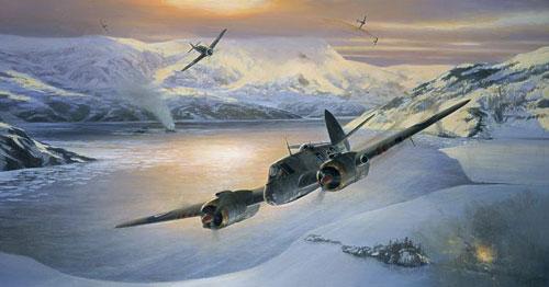 Postlethwaite Mark. Тяжелый истребитель Bristol Beaufighters.