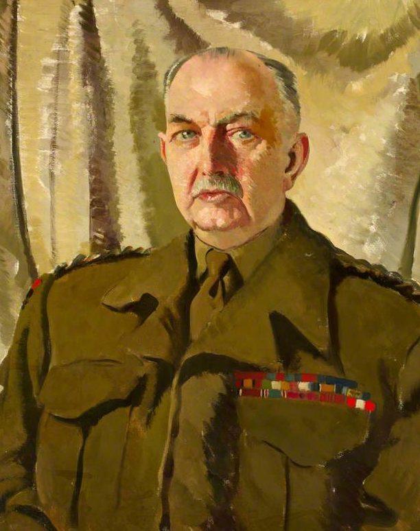 Zinkeisen Doris. Генерал-майор George Lindsay.