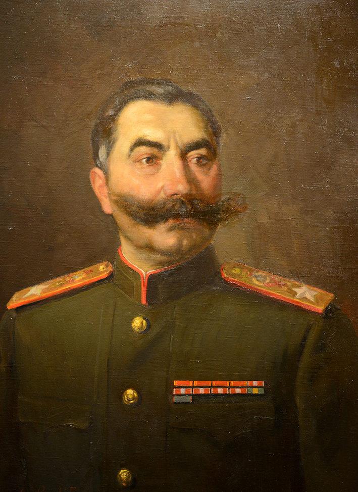 Шухмин Петр. Маршал С. Буденный.