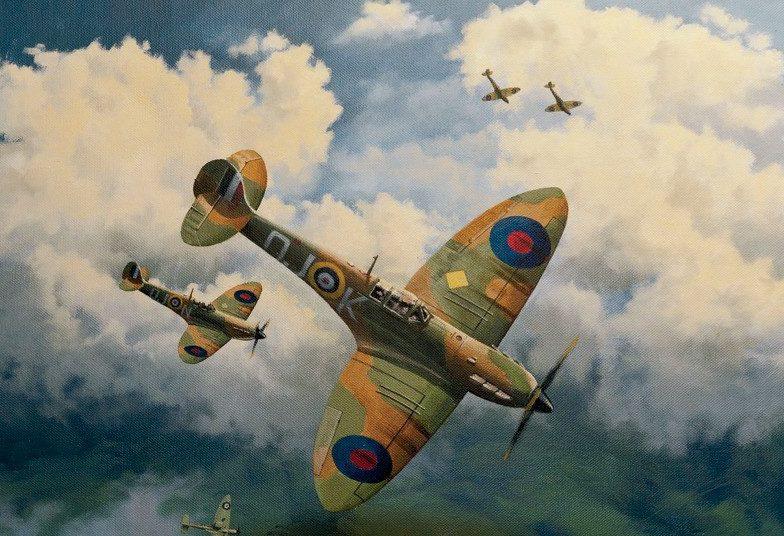Couper Paul. Истребители Supermarine Spitfire Mk.I.