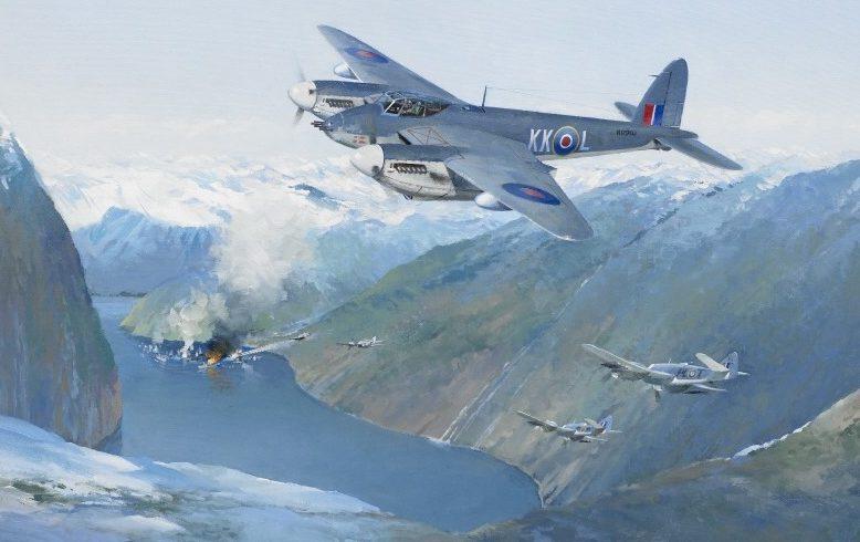 Middlebrook Roger. Тяжелые истребители Havilland Mosquito.