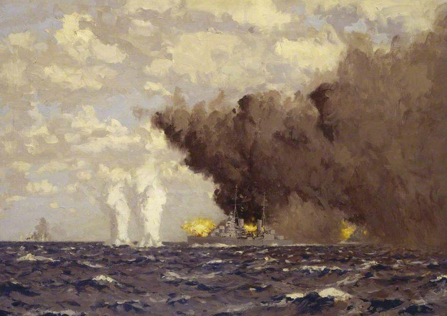 Wilkinson Norman. Морской бой.