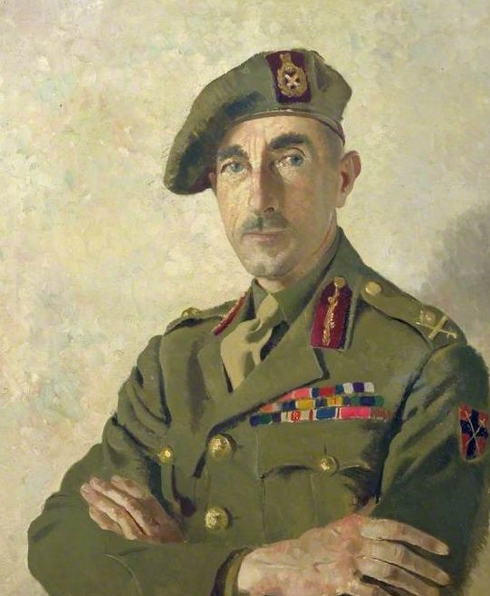 Zinkeisen Doris. Генерал-майор E. Phillips.