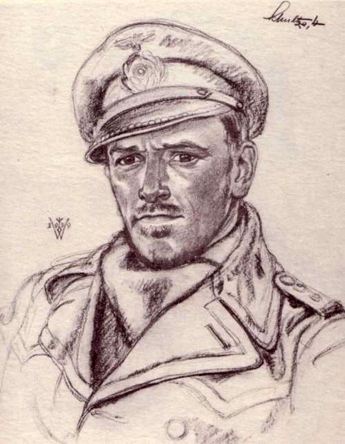 Willrich Wolfgang. Капитан-лейтенант Herbert Schulze.
