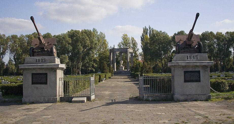 Второй вход на кладбище.