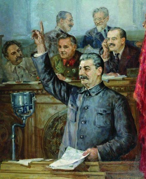 Модоров Федор. Доклад Сталина.