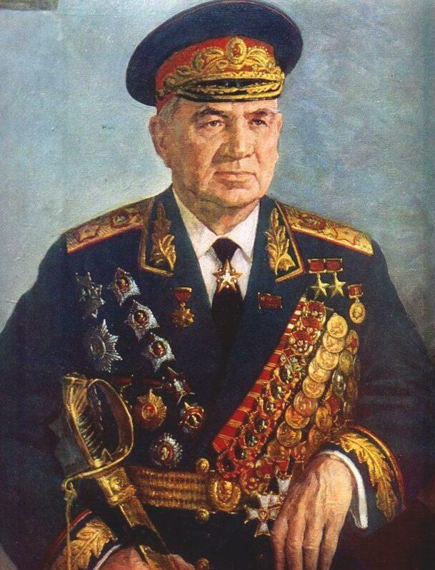 Пензов Иван. Маршал Чуйков В.И.