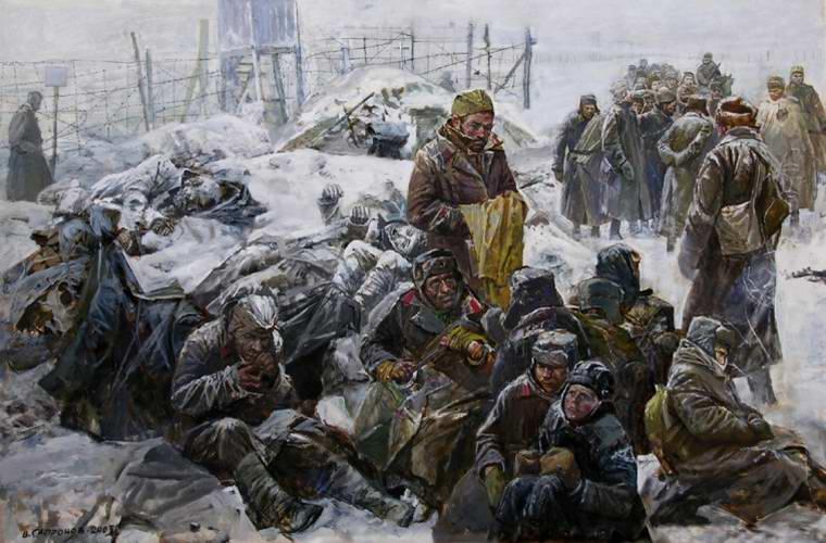Сафронов Виктор. Лагерь штрафников.