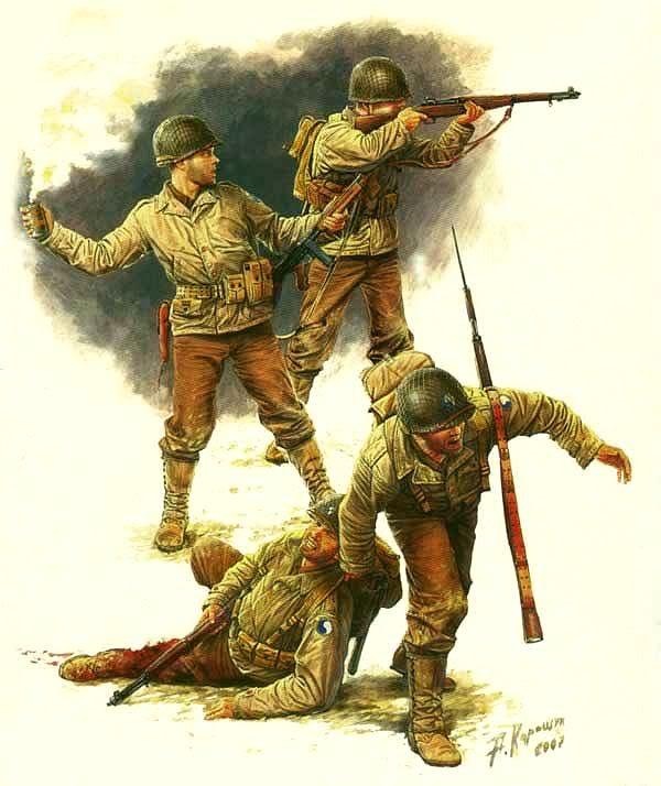 Каращук Андрей. Американская пехота.
