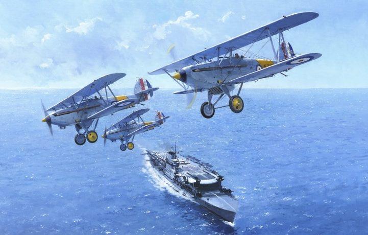 Middlebrook Roger. Истребители Hawker Nimrod с крейсера Glorious.