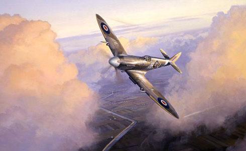 Postlethwaite Mark. Истребители Spitfires.