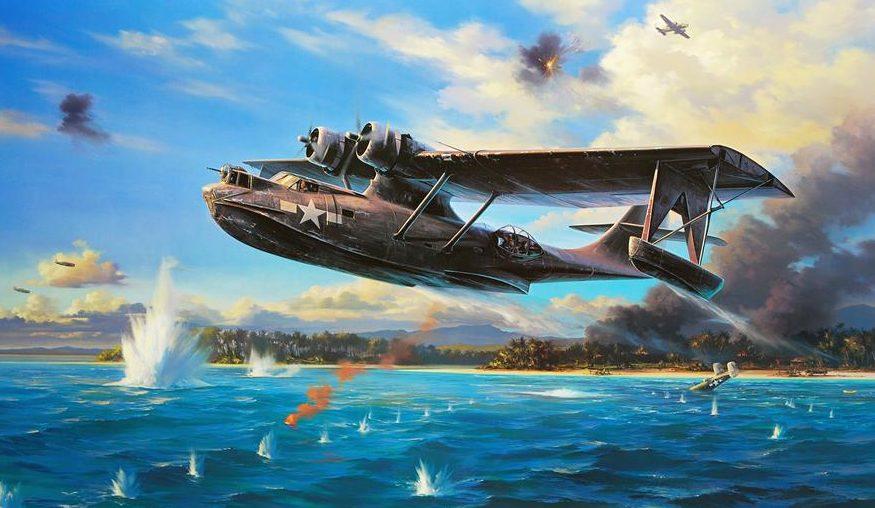 Trudgian Nicolas. Летающая лодка.