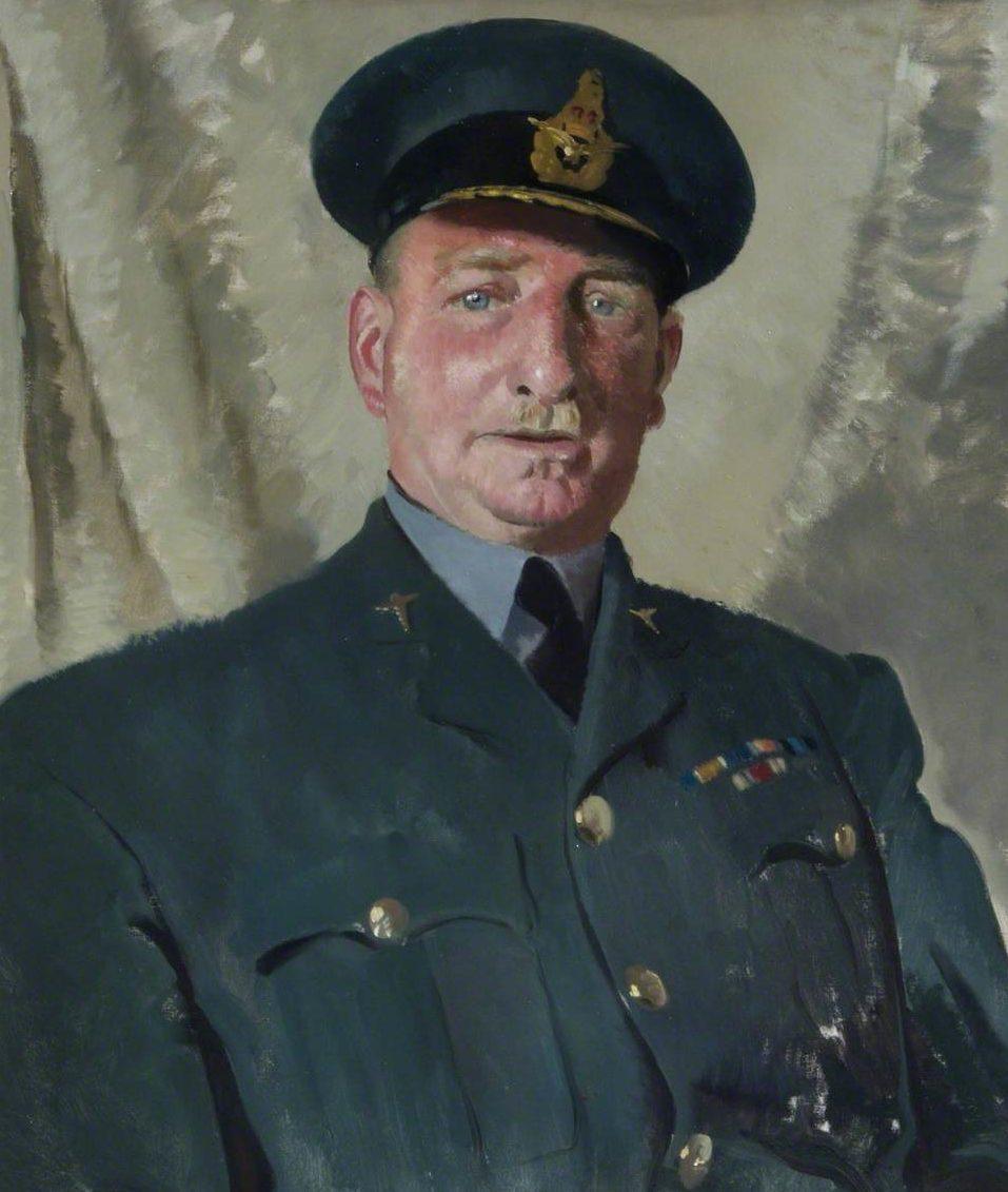 Zinkeisen Doris. Вице-маршал авиации Murphy.