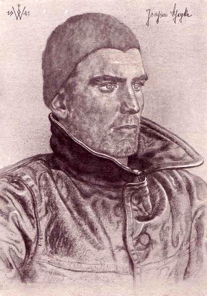 Willrich Wolfgang. Капитан-лейтенант Schepke.