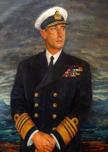 Hailstone Bernard. Адмирал Louis Mountbatten.
