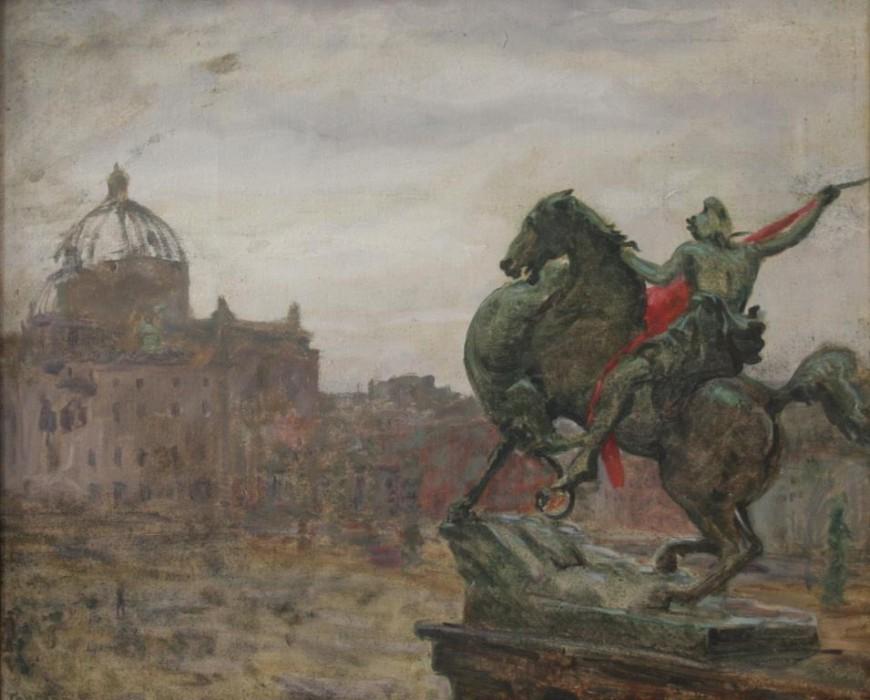 Горелов Ростислав. Берлин. Май 1945 г.