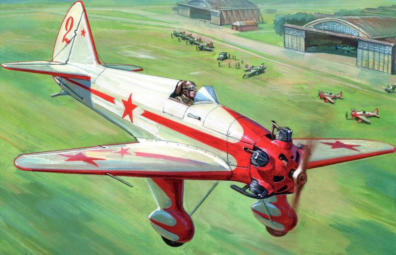 Жирнов Андрей. Учебный самолет УТ-2.