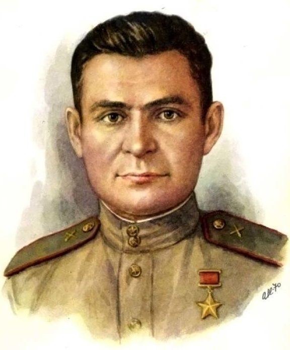Кручина Александр. Герой Советского Союза А. Авдеев.