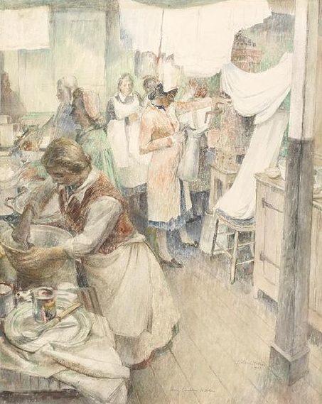 Hudson Eleanor. Кухня госпиталя.