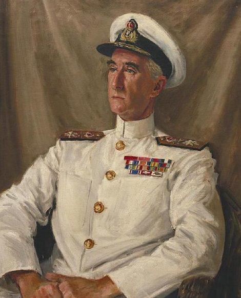 Hailstone Bernard. Контр-адмирал Douglas-Pennant.