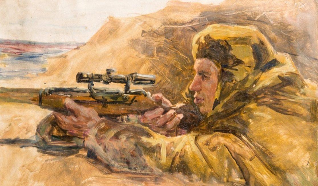 Горелов Ростислав. Снайпер.