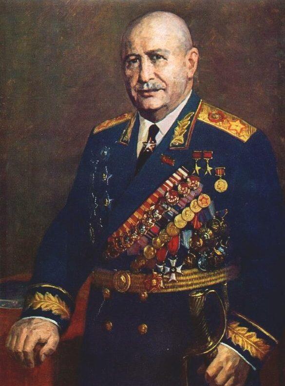 Пензов Иван. Маршал Баграмян.