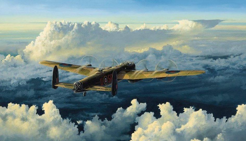Couper Paul. Бомбардировщик Avro Lancaster.