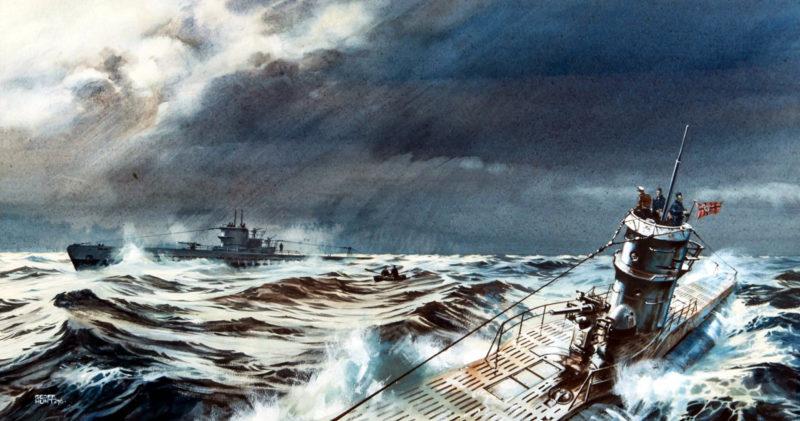 Hunt Geoff. Подлодки в Атлантике.