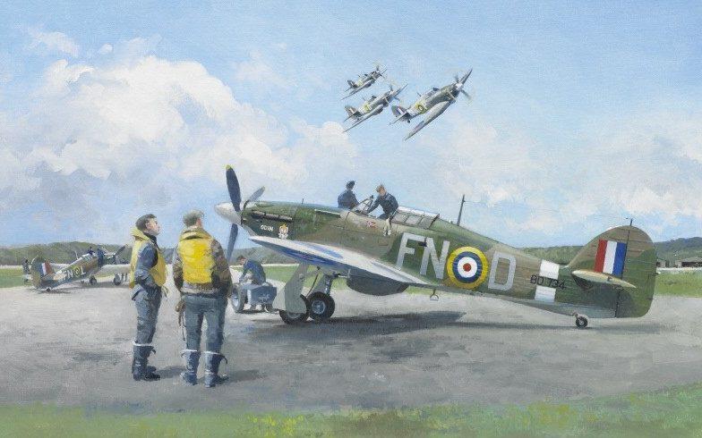 Middlebrook Roger. Истребители «Hawker Hurricane».