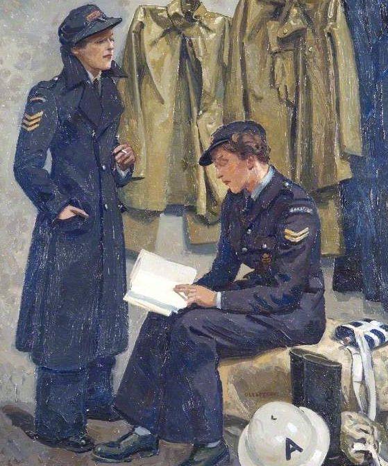 Gledstanes Elsie. Школа водителей Женской Армии.