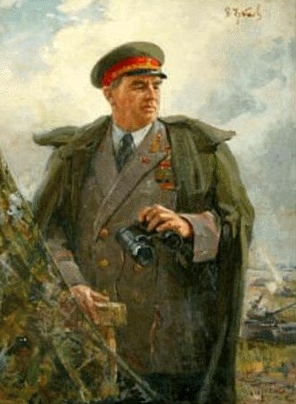 Горпенко Анатолий. Маршал Чуйков В.И.