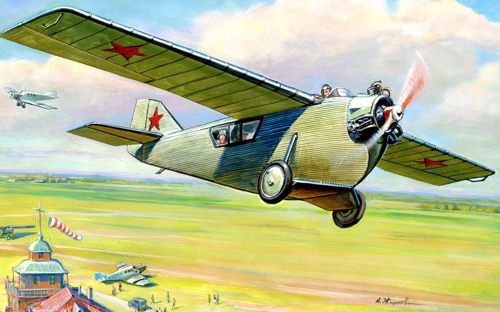 Жирнов Андрей. Пассажирский самолет Ант-2.