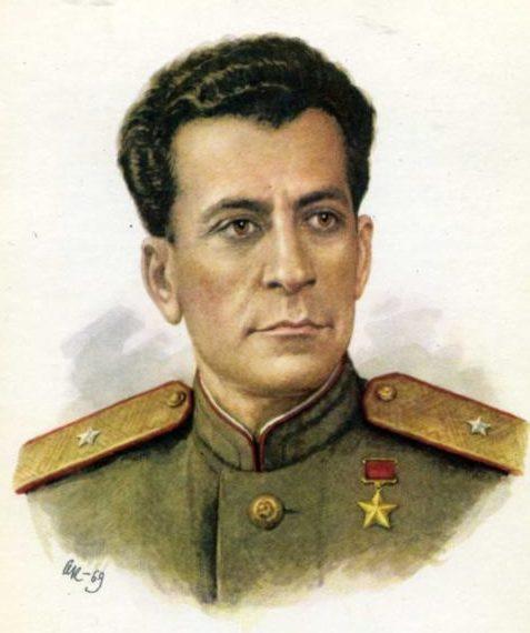 Кручина Александр. Герой Советского Союза Б. Владимиров.