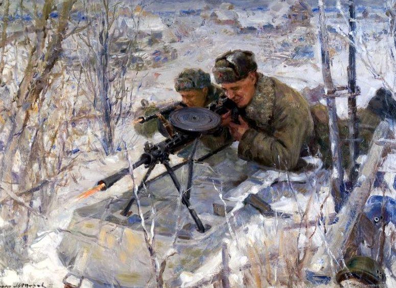 Модоров Федор. Пулеметные снайпера.