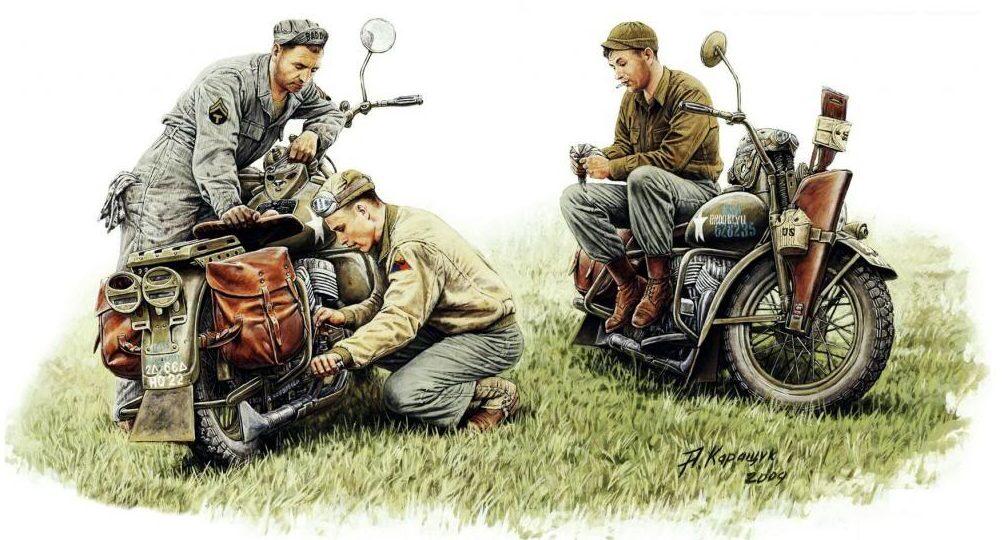 Каращук Андрей. Ремонт мотоцикла.